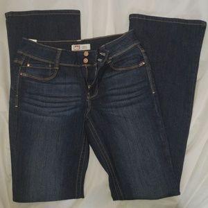 L.E.I. Hipster Flare Jeans